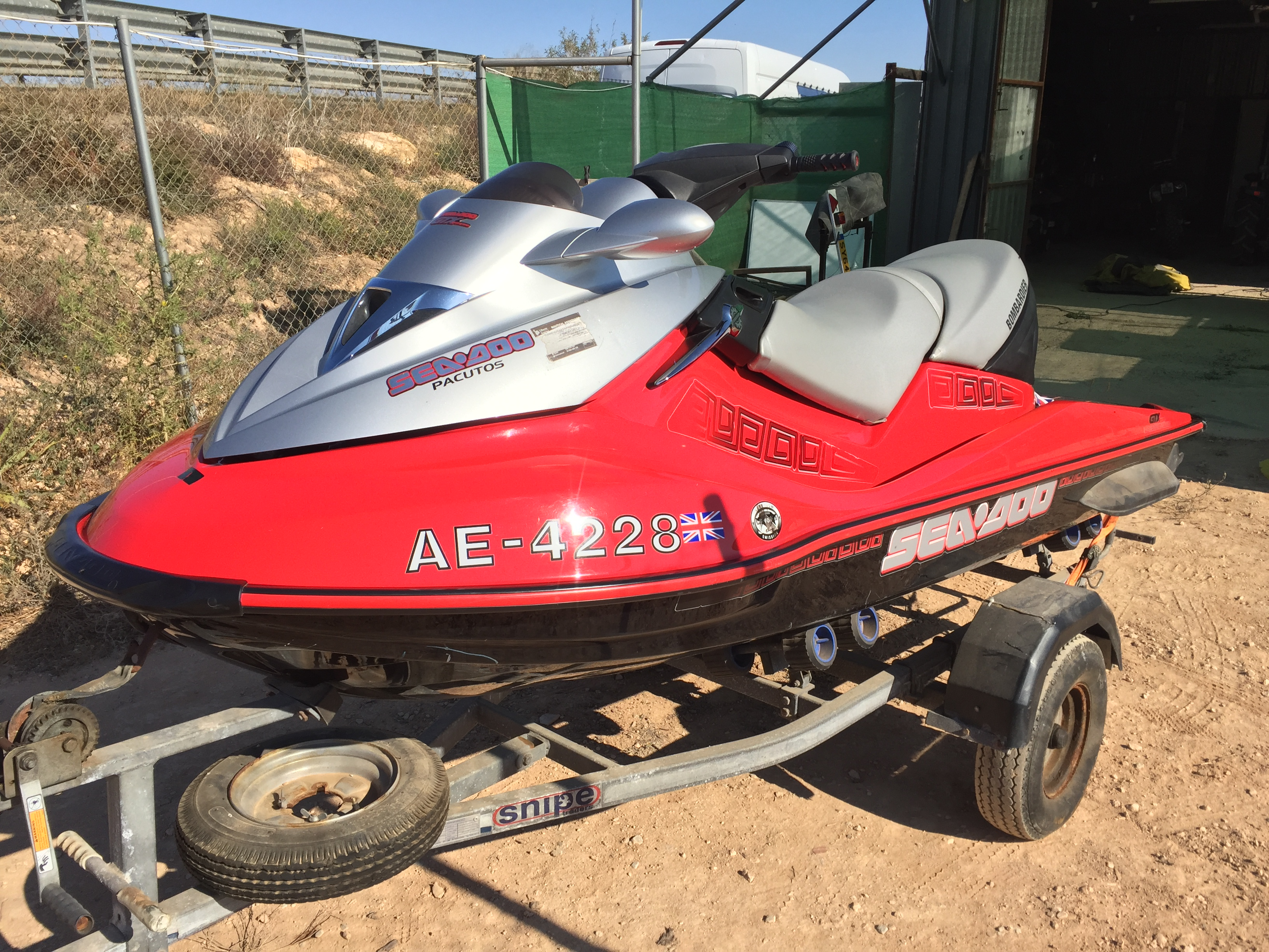 For sale: SEADOO JETSKI 4 STROKE only 76 hours - Buy and
