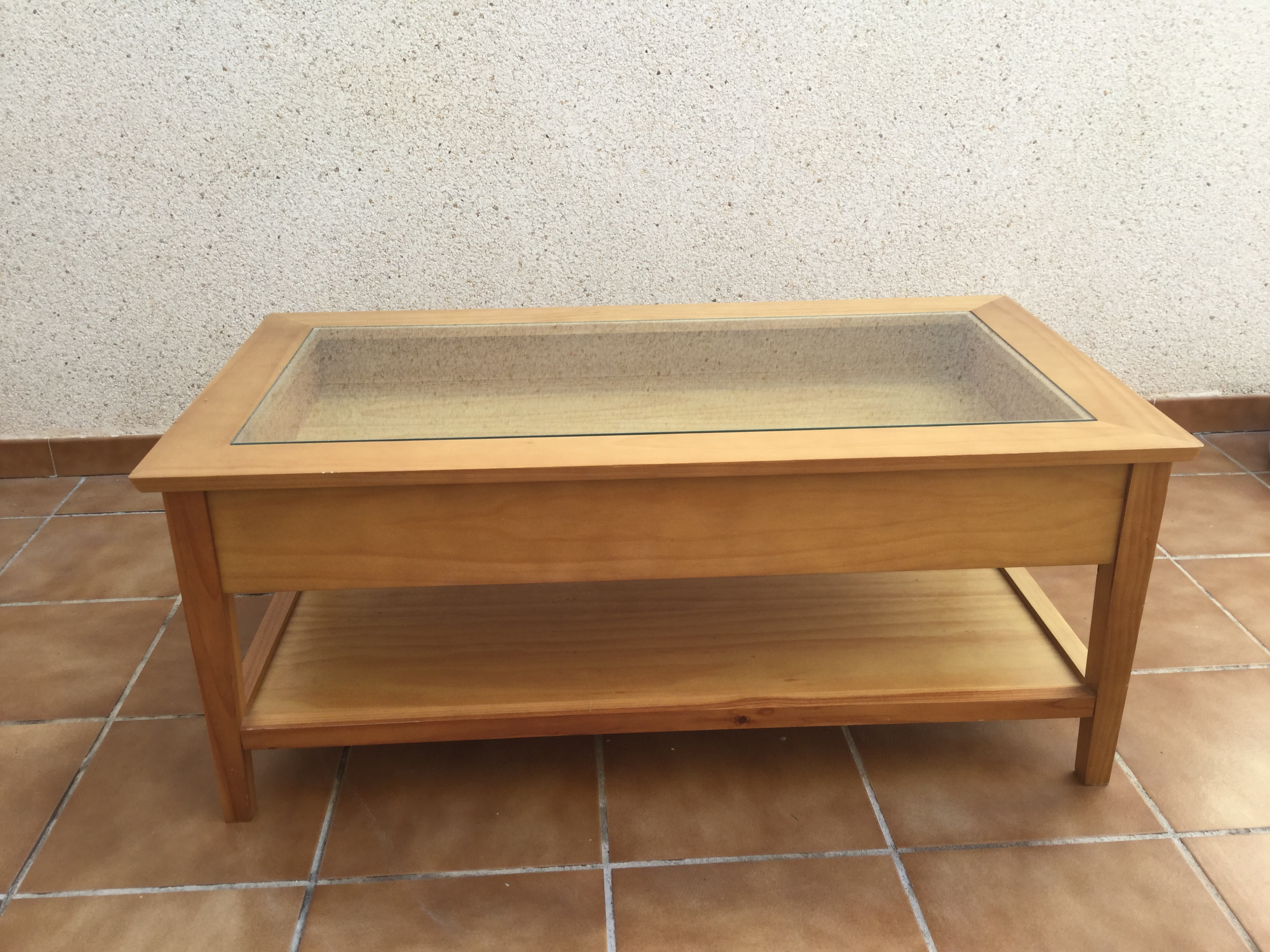 For Sale Glass Top Coffee Table Buy And Sell Items In Santiago De La Ribera Santiago De La