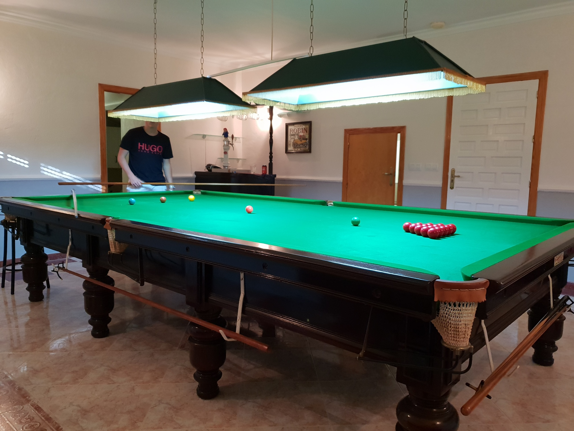 For sale: Snooker table