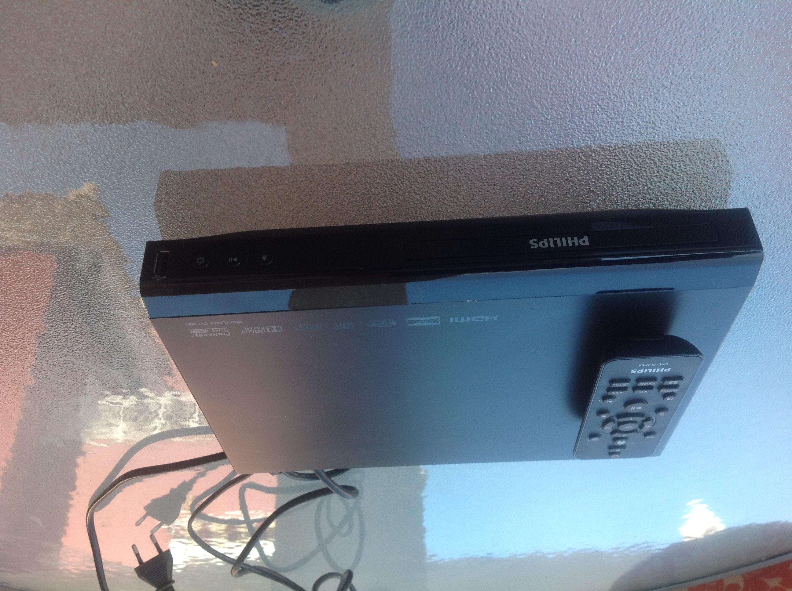 For sale: philips DVD player with USB cable and remote - Buy and ...