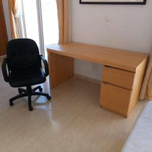 For sale: Nice office desk and chair.