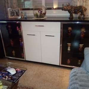 For sale: Sideboard lighted display cabinet.
