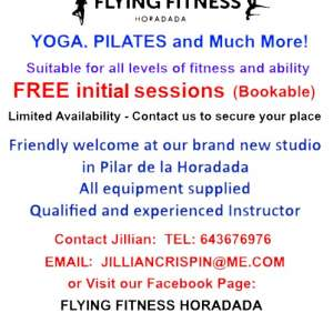 Flying Fitness Horadada