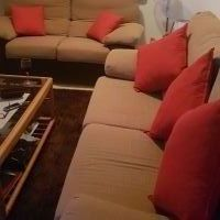 For sale: 2 and 3 seater sofas