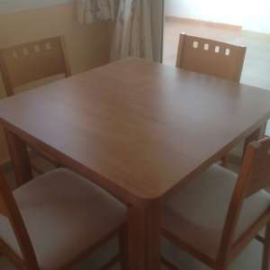 For sale: Dining table 4chairs and coffee table - €80