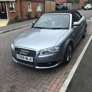 For sale: Audi A4 2ltr diesel convertible