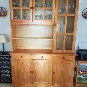 For sale: Display Cabinet size 214cm x 148cm x 41cm - €75