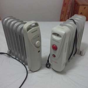 For sale: 2 small heaters - €15