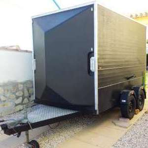 For sale: Box Trailer - 10ft  x 5ft 6in x 6ft 6in high - €1,000
