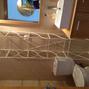 For sale: Cream display stand