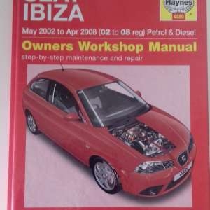 For sale: Seat Ibiza workshop manual - €10