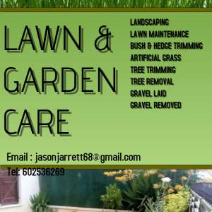 Complete garden makeover or tidy up