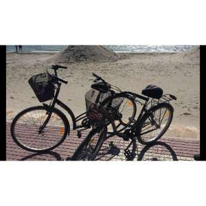 Picture of stolen bikes right one