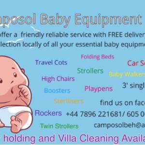 Camposol Baby Equipment Hire
