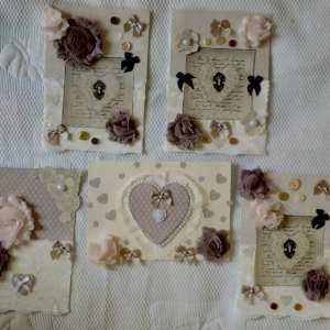 For sale: Beautiful handmade greeting cards, memory books, photo albums and scrapbooks - €3