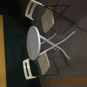 For sale: Two chair folding Bistro set - €30
