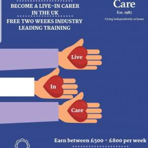 Christies Care. Live in carer opportunities throughout the UK.
