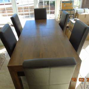 For sale: Dining Table & Six Chairs