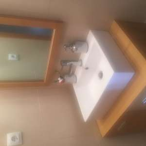 For sale: Vanity unit with basin, mirror and tap - €100