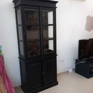 For sale: Glass display cabinet - €95