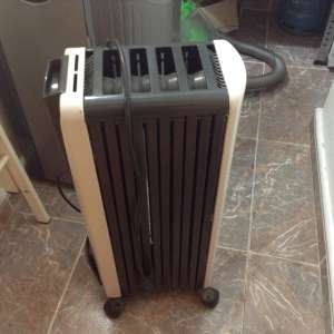 For sale: Two small oil filled electric radiators - €10